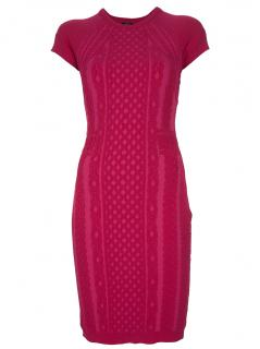 Alexander McQueen McQ  Raspberry  Pink Dress