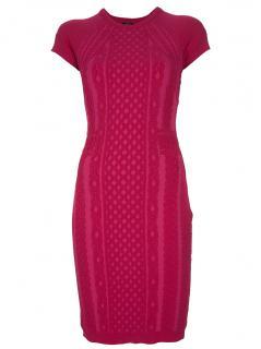Alexander McQueen McQ  Raspberry  Pink Dress