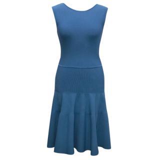 Issa Blue A-Line Dress