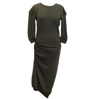 Nina Ricci Wool and Cashmere Blend Dress