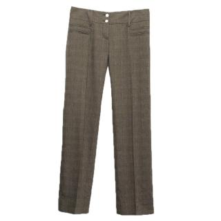 Dolce & Gabbana brown trousers