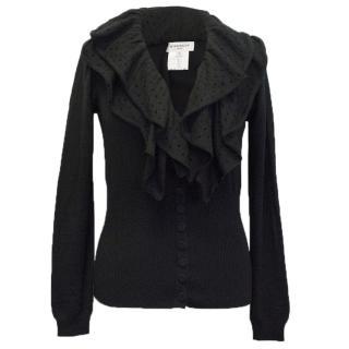Givenchy Black Cardigan