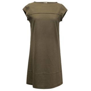 Brunello Cucinelli brown dress