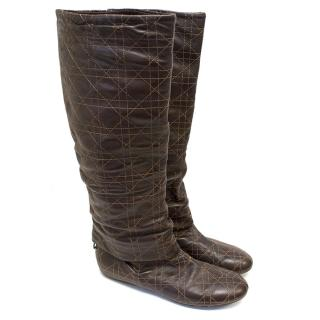 Dior Cannage Boots