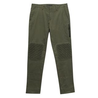 Belstaff green trousers