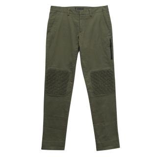 Belstaff green trousers