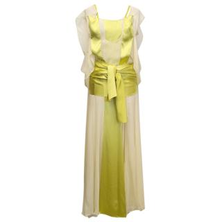 Yves Saint Laurent Silk Evening Dress
