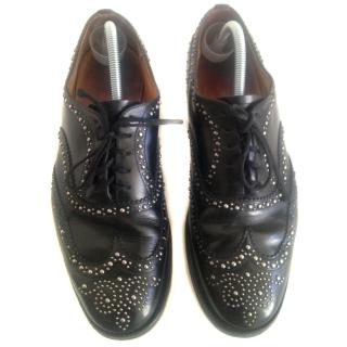 Church's studed lace up shoes