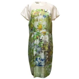 MCB by Malene Birger Silk Printed Dress