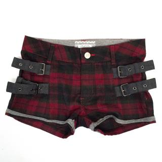 Fun & Fun Chequered Girls Shorts