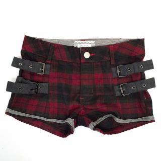 Fun & Fun Chequered Girls Shorts
