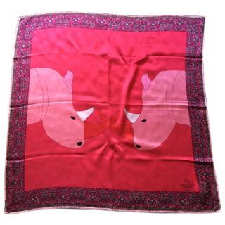 Charlotte Sparre silk scarf