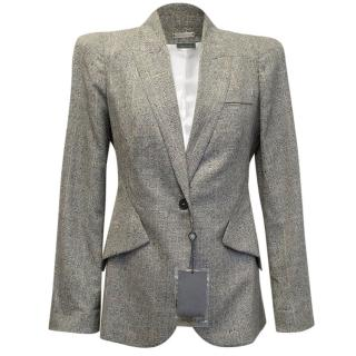 Alexander McQueen Grey Blazer