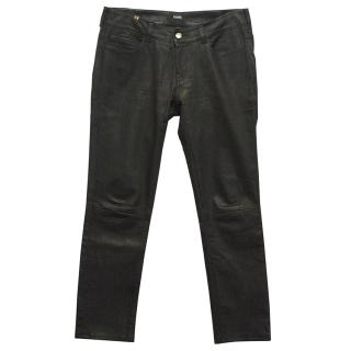 Notify leather trousers
