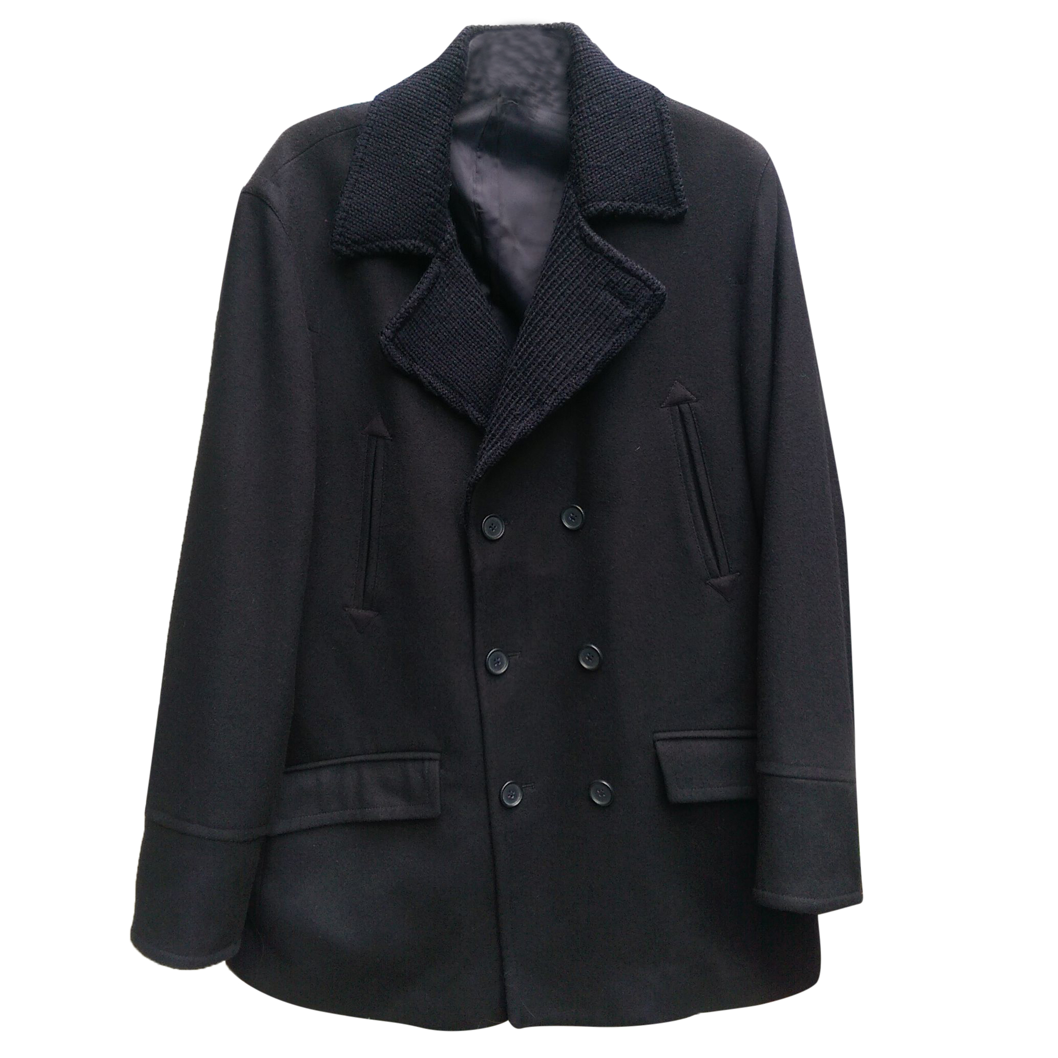 Austin Reed Double Breasted Reefer Coat068963 Hewi