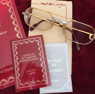 Vintage Cartier glasses
