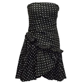 Ralph Lauren Collection Polka Dot Dress
