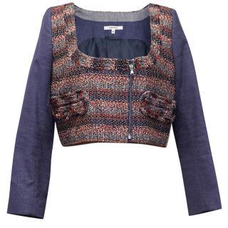 Carven tweed cropped jacket