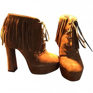 Just Cavalli suede boots