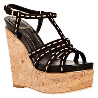 Christian Dior High Wedge Shoes