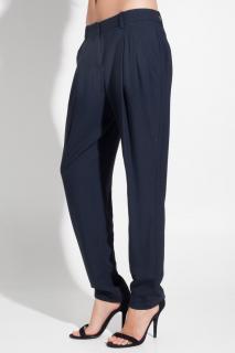 Theory Yogan Pants in Navy