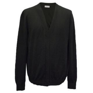 Dior Black Wool Cardigan