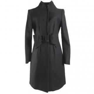 Moschino Cheap and Chic Black Wool Coat