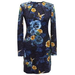 Matthew Williamson Blue Body Con Dress