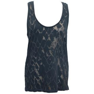 Mathew Williamson Blue tank top