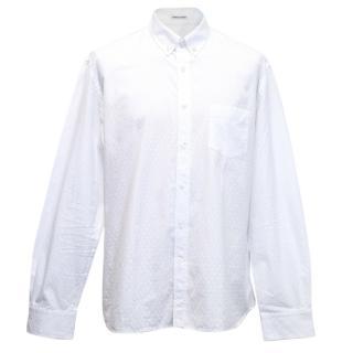 Tomas Maier white shirt