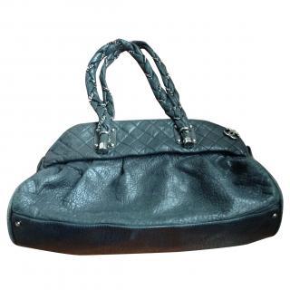 Chanel large black shoulder bag