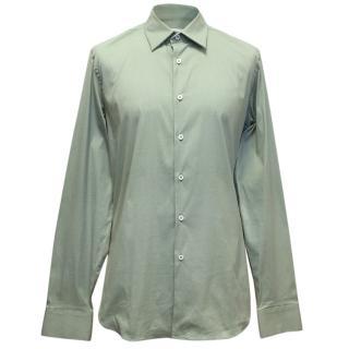 Prada Mint Green Dress Shirt