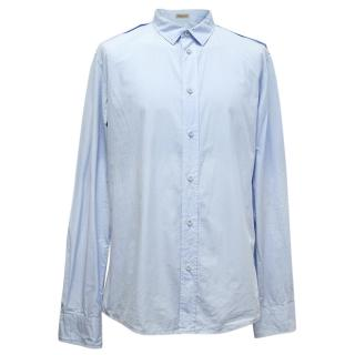 Bottega Veneta Blue Shirt