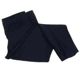Chloe navy trousers