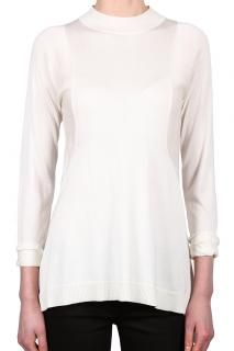 NEW Sportmax Silk and Cotton Blend Top