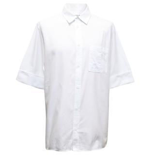 Maison Martin MArgiela White Short Sleeve Shirt
