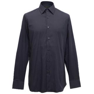 Prada Navy Dress Shirt