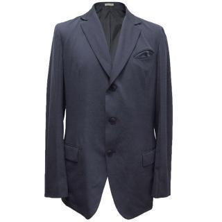 Bottega Veneta Navy Wool Jacket