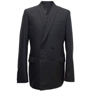 Yves Saint Laurent Dark Blue Mohairblend Blazer