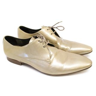 Paul Smith Beige Patent Leather Shoes