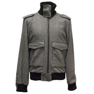 Vivienne Westwood Black and White Houndstooth Jacket