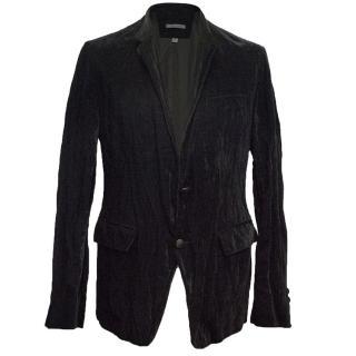 John Varvatos Black Velvet Jacket