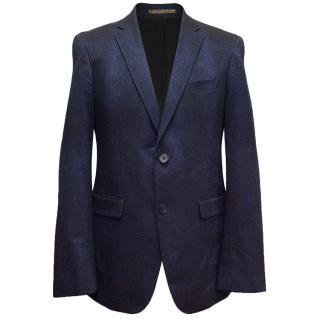 Sand The Red Carpet blue and black blazer