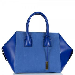 Stella McCartney blue Cavendish tote