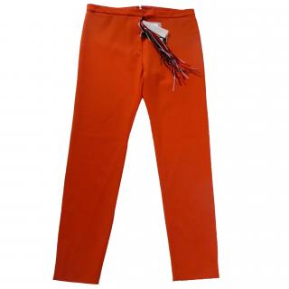 MSGM bright orange trousers