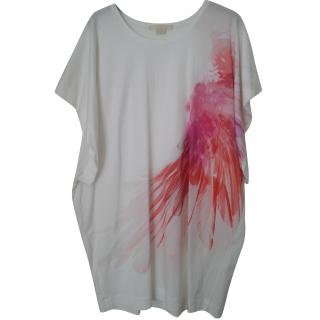 Antonio Berardi Feather Print Dress