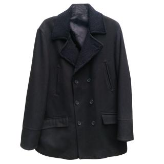 Austin Reed Double Breasted Reefer Coat