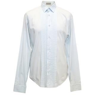 Dior Pleated Light Blue Shirt