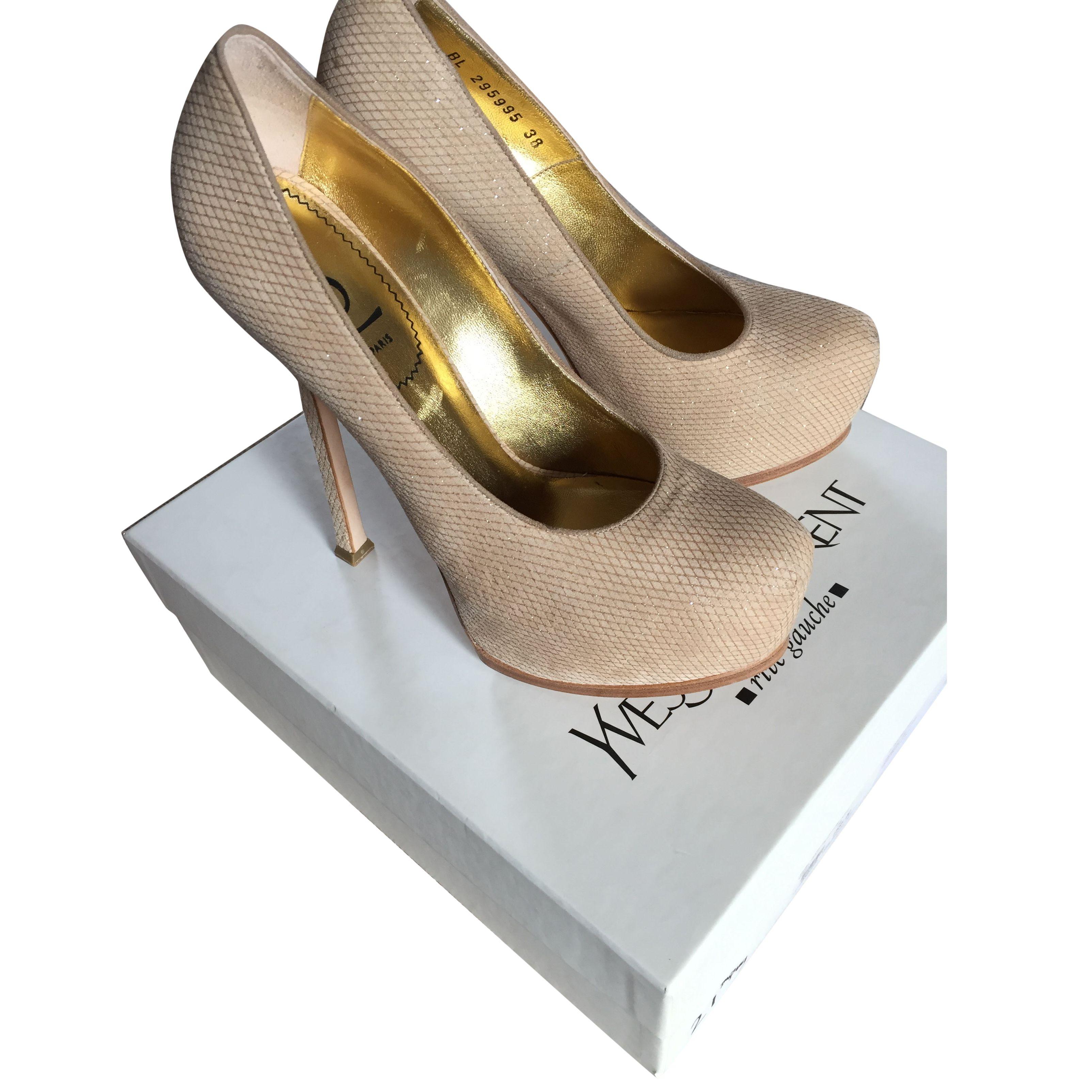 Ysl tribtoo heels