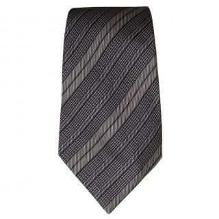 Ermenegildo Zegna navy and grey tie